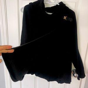 Calvin Klein poncho sweater one size